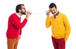 Comunicar-se bem é fundamental. Imagem: Freepik